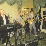 Mike d'Abo, Steve Gobey, Frank Abrams, Dik, John Banting; Cirencester Agricultural College, c1988