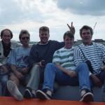 Mike d'Abo, Steve Degutis, Frank Abrams, Steve Gobey, Dik; Isle of Wight, 1990